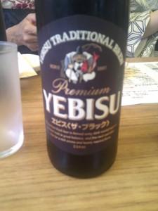 YEBISUの黒