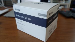 SIGMA 30mmF1.4